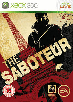 The Saboteur Xbox 360 Cover Art