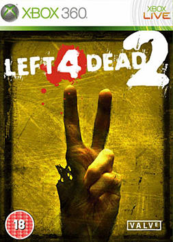 Left 4 Dead 2 Xbox 360 Cover Art