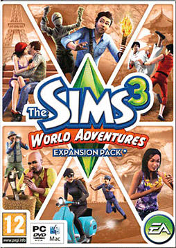 The Sims 3: World Adventures PC Games and Downloads Cover Art