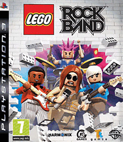 LEGO Rock Band PlayStation 3 Cover Art