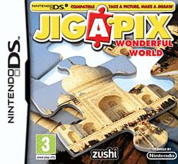 Jig-a-Pix: Wonderful World DSi and DS Lite