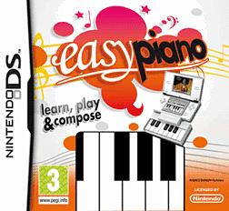 Easy Piano (with Piano) DSi and DS Lite Cover Art
