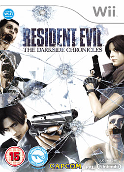 Resident Evil: The Darkside Chronicles Wii Cover Art