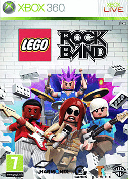 LEGO Rock Band Xbox 360 Cover Art