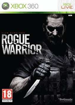 Rogue Warrior Xbox 360 Cover Art