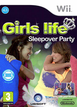 Girls Life: Sleepover Party Wii Cover Art