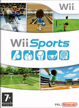 Wii Sports Wii Cover Art