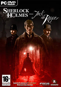 Sherlock Holmes vs Jack The Ripper PC Games and Downloads Cover Art