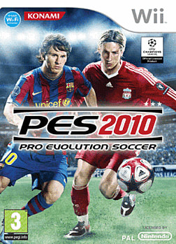 Pro Evolution Soccer 2010 Wii Cover Art