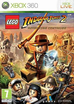 LEGO Indiana Jones 2: The Adventure Continues Xbox 360