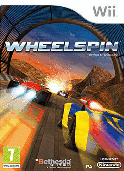 Wheelspin Wii Cover Art