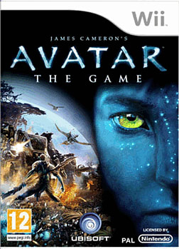 James Cameron's Avatar: The Game Wii Cover Art