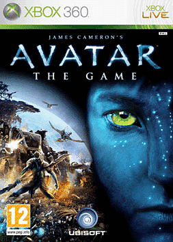 James Cameron's Avatar: The Game Xbox 360 Cover Art