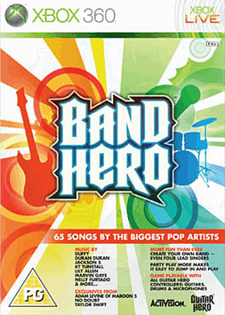 Band Hero (Complete Band Pack) with GAME Exclusive Downloadable Content Xbox 360 Cover Art