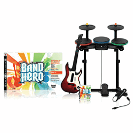 Band Hero (Complete Band Pack) with GAME Exclusive Downloadable Content PlayStation 3 Cover Art