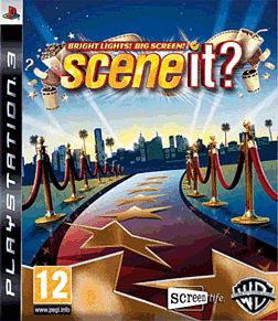 Scene It! Bright Lights Big Screen PlayStation 3 Cover Art