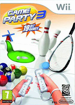 Game Party 3 Wii Cover Art