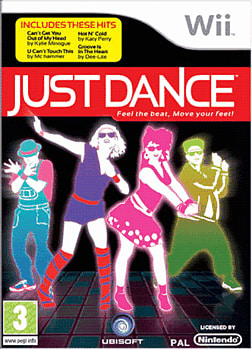 Just Dance Wii Cover Art