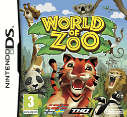 World of Zoo Dsi and DS Lite Cover Art
