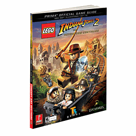 Lego Indiana Jones 2 Strategy Guide Strategy Guides and Books