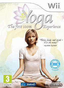 Yoga: The First 100% Experience Wii Cover Art