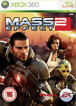 Mass Effect 2 Xbox 360 Cover Art