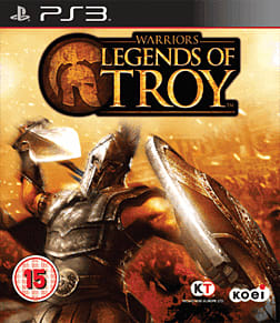 Warriors: Legend of Troy PlayStation 3 Cover Art