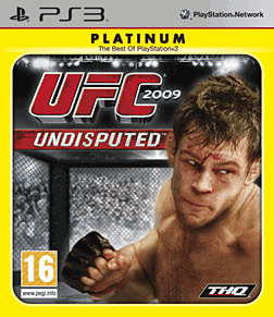 UFC 2009: Undisputed - Platinum Edition Playstation 3 Cover Art