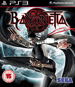 Bayonetta PlayStation 3 Cover Art