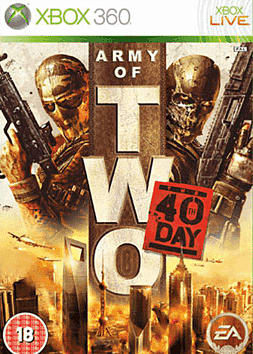 Army of Two: The 40th Day Xbox 360 Cover Art
