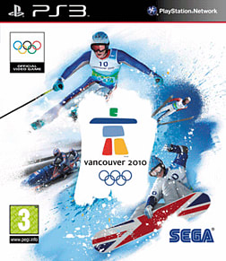 Vancouver 2010 PlayStation 3 Cover Art