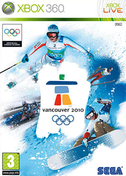 Vancouver 2010 Xbox 360 Cover Art