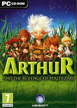 Arthur and the Revenge of Maltazard PC Games and Downloads Cover Art