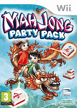 Mahjong Party Pack Wii Cover Art