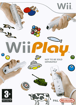 Wii Play Wii Cover Art
