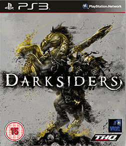 Darksiders PlayStation 3 Cover Art