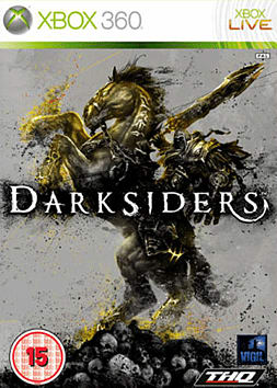Darksiders Xbox 360 Cover Art