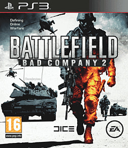 Battlefield Bad Company 2 PS3 Cover Art