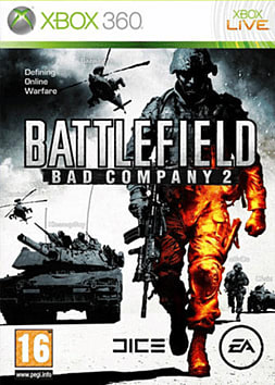 Battlefield Bad Company 2 Xbox 360 Cover Art