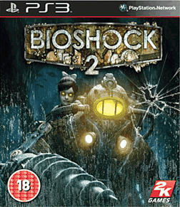 BioShock 2 PlayStation 3 Cover Art
