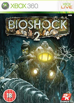BioShock 2 Xbox 360 Cover Art