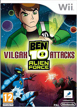 Ben 10 Alien Force Vilgax Attacks Wii Cover Art