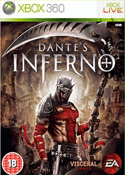 Dante's Inferno Xbox 360 Cover Art