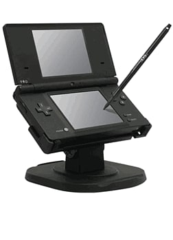 DSi/DSL Play Stand & Long Stylus Pen Accessories