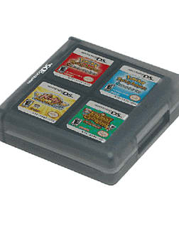 DS Card Case for 16 Games (Black) Accessories