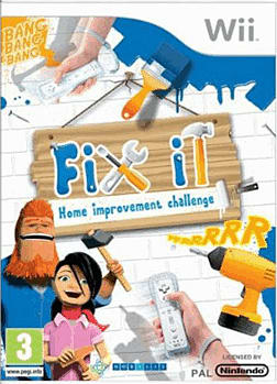 Fix It Home Improvement Challenge Wii Cover Art