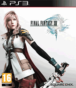 Final Fantasy XIII PlayStation 3 Cover Art