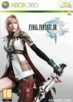 Final Fantasy XIII Xbox 360 Cover Art