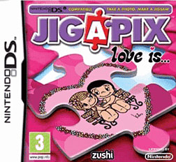 JIGAPIX Love is DSi and DS Lite