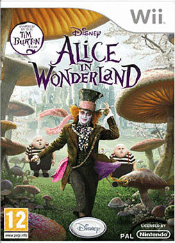 Alice in Wonderland Wii Cover Art